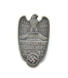 Frankentag Hesselberg 1938 abzeichen