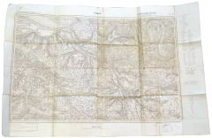 German map of Lisieux (Normandy/1941)