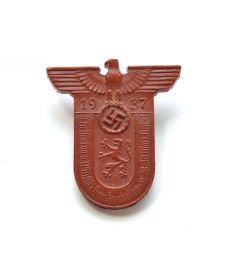 'Hessentag der NSDAP Gau Kurhessen 28-30 März Kassel 1937' Abzeichen