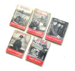 5 x Winterhilfswerk booklets