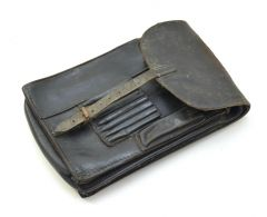 Black Leather Wehrmacht Map case