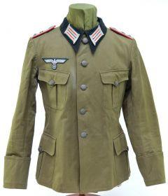 Mint! WH Artillerie Oberleutnant Summer Feldbluse