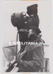 Kriegsmarine ''Minensperren'' Press Photo