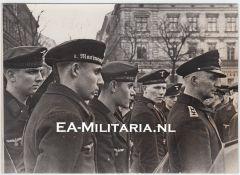 Kriegsmarine ''Artillerie Musikkorps'' Press Photo