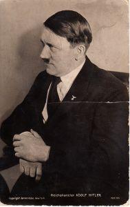 Reichskanzler A.Hitler Postcard (James Abbe NY)