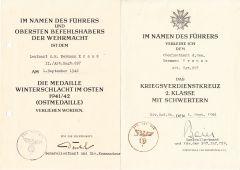 Art.Rgt.297 Award Documents