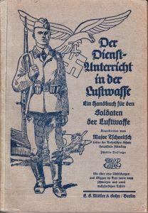 Early Edition Luftwaffe ''Reibert'' Handbook (1936!)