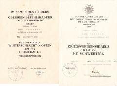 Kraftfahr-Kompanie 455 Award Documents