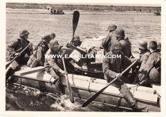 Waffen-ss ''Pak 3,7cm'' Postcard