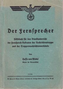 'Der Fernsprecher' Booklet (1936)