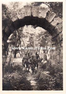 Waffen-ss 'Auf Olympischer Erde' Postcard