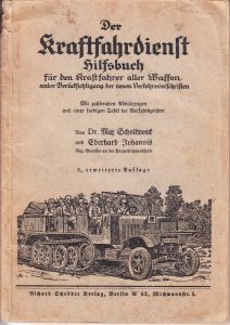 Der Kraftfahrdienst Hilfsbuch 1940