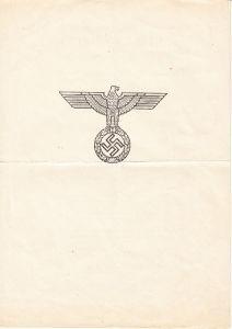 Ehrenblatt Des Deutschen Heeres (17.Mai 1944)