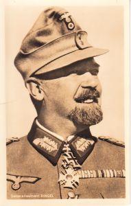 Ritterkreuzträger Postcard of Generalleutnant Ringel