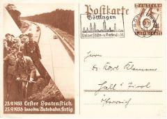 '1000km Autobahn' Postcard