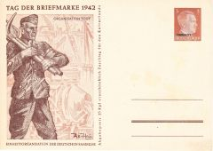 Organisation Todt 1942 Propaganda Postcard