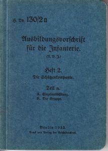 Wehrmacht Ausbildungsvorschrift für die Infanterie (1935)