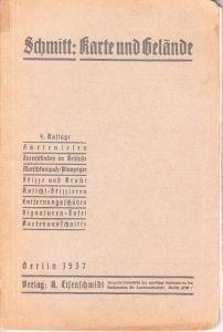 Karte und Gelände' Instruction Booklet (1937)
