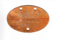 Kriegsmarine 'Küstendienst Land' Erkennungsmarke 1942