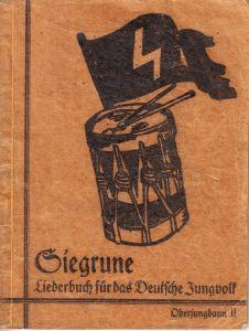 Deutsche Jungvolk 'Siegrune' Liederbuch