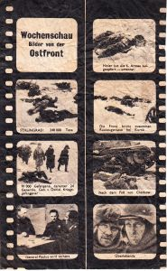 Flugblätter 'Wochenschau bilder von der Ostfront'