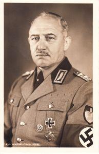 Reichsarbeitsführer Hierl Propaganda Postcard