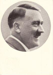 Adolf Hitler Propaganda Portrait Postcard