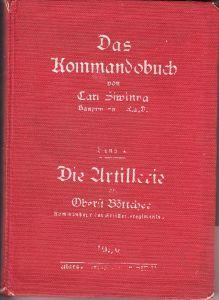 Das Kommandobuch 'Die Artillerie' 1939