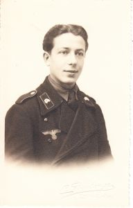 Panzer Soldier Portrait (Taken in France)
