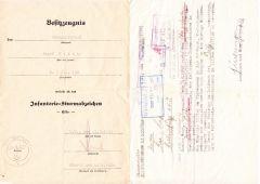 2./Inf.Rgt.158 ISA Award Document Set