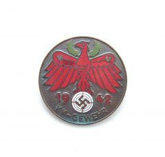1942 'KK-Gewehr' Tirol Shooting Badge in Bronze