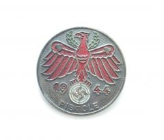 1944 'Pistole' Tirol Shooting Badge in Silver