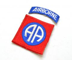 US 82nd Airborne Sleeve Patch