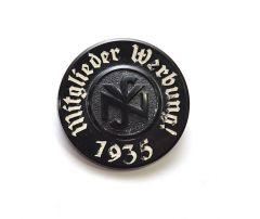 NSV 'Mitglieder Werbung 1935' abzeichen