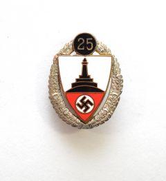 DRKB 25 Jahre Ehrennadel