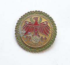 Gold 1944 'Pistole' Tirol Shooting Badge