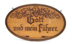 'Gott und mein Führer' Wall Plaque