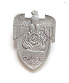 Frankentag Hesselberg 1936 abzeichen