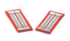 Artillerie Officers Waffenrock Collar Tabs