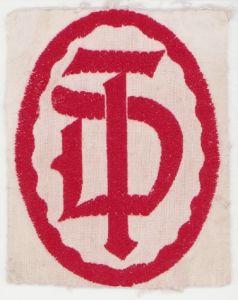 Deutsche Turnerbund sleeve patch