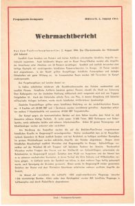 Normandy ''Wehrmachtbericht'' Poster/Flyer